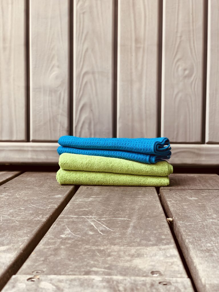 OurEco Clean Microfibre Cloths - www.ourecoclean.nz